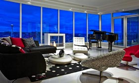 Model penthouse at Escala (Courtesy of Escala)