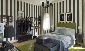Teenage Boys Bedroom in the 2013 DC Design House (©John McDonnell/The Washington Post via Getty Images)