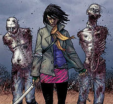 'Comic Book Michonne' '/' AMC