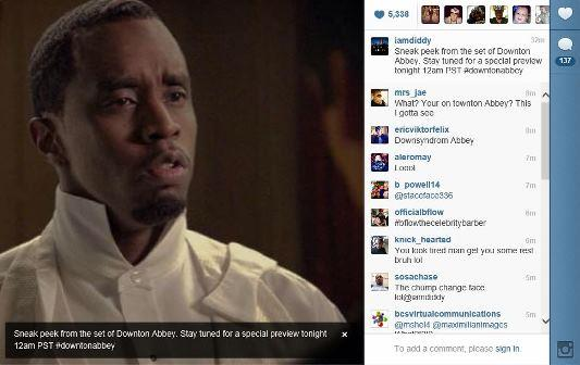Instagram/@iamdiddy