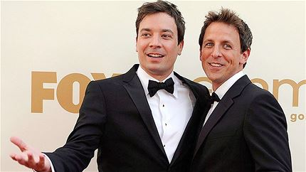 'Jimmy Fallon and Seth Meyers' '/' NBC