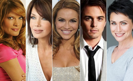 flood of casting updates for the young and the restless the bold and ...