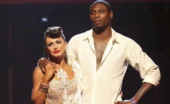Karina Smirnoff and Jacoby Jones/ABC