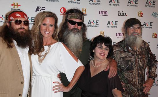 The cast of 'Duck Dynasty'/WENN