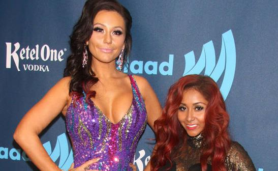 JWoww and Snooki/WENN