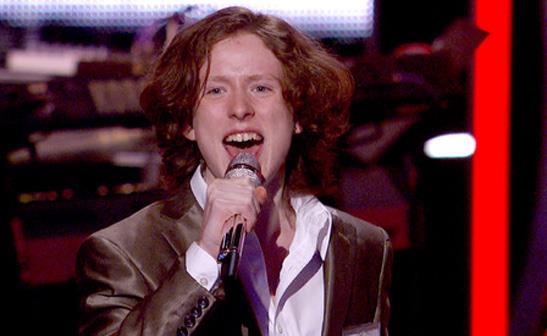 Charlie Askew performs during the Hollywood rounds on 'American Idol'/FOX