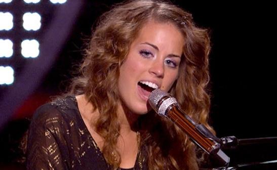 Angela Miller performs during the Hollywood rounds on 'American Idol'/FOX