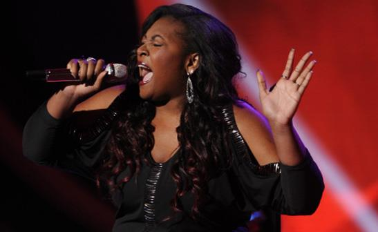 Candice Glover on 'American Idol'/FOX