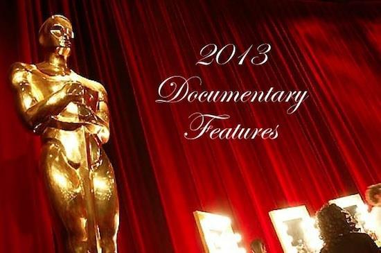 academy awards 2013 shortlist for documentary features