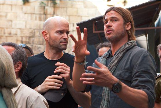 Marc Forster and Brad Pitt/WORLD WAR Z, from Paramount Pictures and Skydance Productions in association with Hemisphere Media Capital and GK Films.