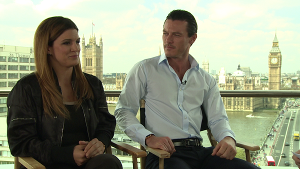 Interview: Gina Carano and Luke Evans of 'Fast & Furious 6'