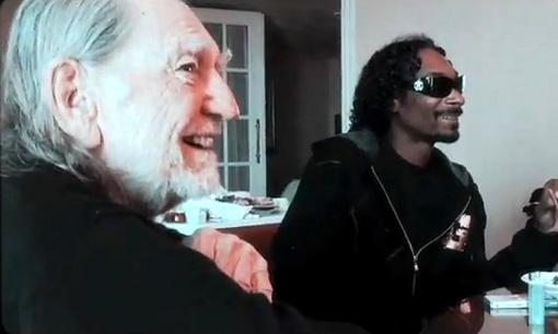 Willie Nelson and Snoop Dogg