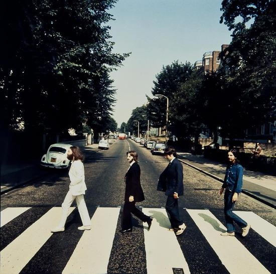 Abbey Road in reverse
