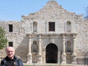 Phil Collins at the Alamo