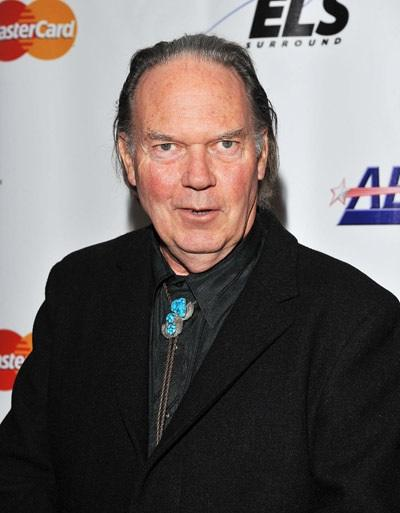 Neil Young at MusiCares