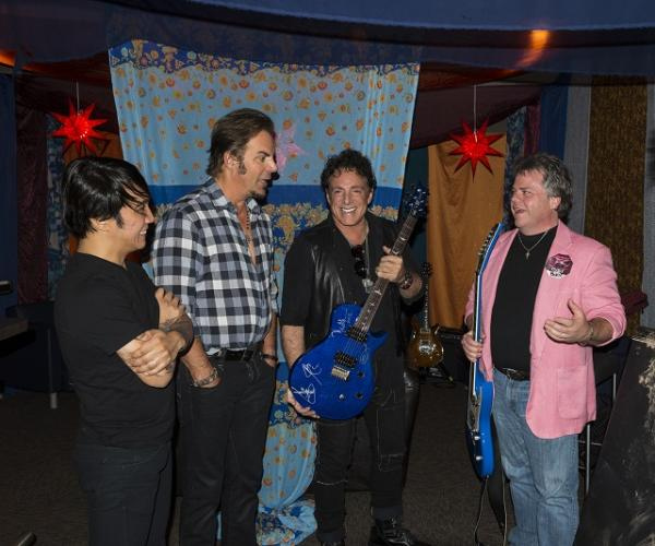 Neal Schon and David Peterson