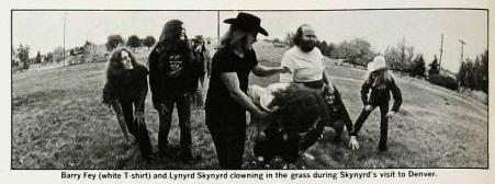 Barry Fey and Lynyrd Skynyrd