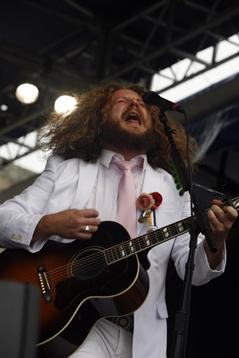 Jim James of My Morning Jacket/Joe Giblin AP