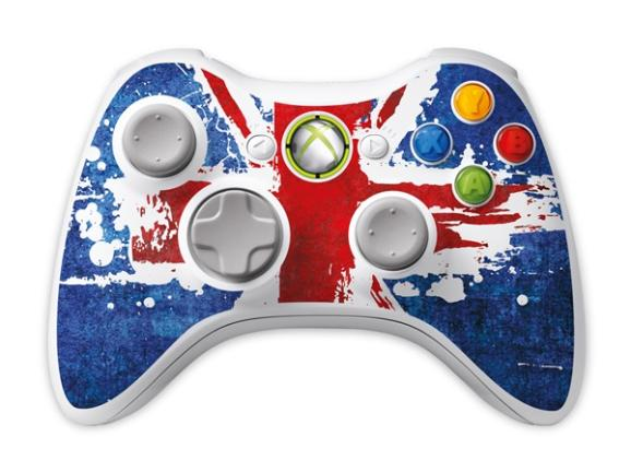 The Xbox controller from the Celebration Pack.
