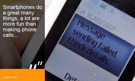 Dangerous data: Is the shift away from calls bringing down our phone networks?