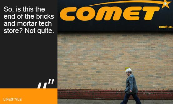 Comet store. Image PA
