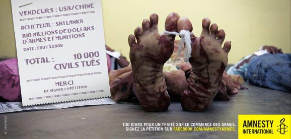 Campagne Amnesty International France