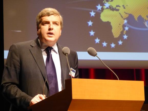 Michel Miraillet, directeur chargé des Affaires stratégiques au Ministère de la Défense (c) Franck Edard