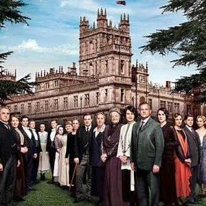 Cast Downton Abbey, Season 4 © PBS
