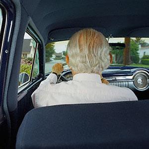 Older driver © Corbis