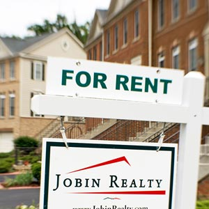A house for rent sign © Paul J. Richards/AFP/Getty Images
