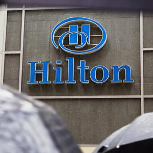 Hilton Hotel, Midtown in New York© Andrew Kelly/Reuters