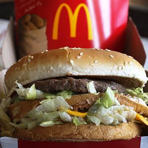 Credit: © Gene J. Puskar/APCaption: A McDonald's Big Mac sandwich