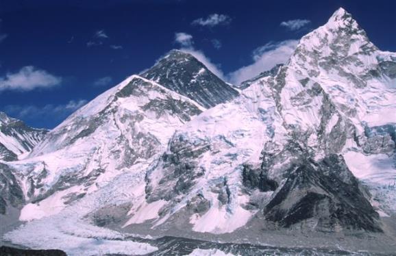 La Cara Sur del Everest. Foto: Sebastián Álvaro