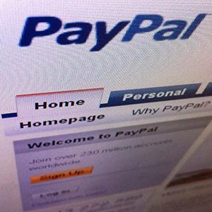 PayPal website (© Tan Shung Sin/Newscom/Reuters)
