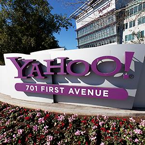 Caption: Yahoo! Headquarters in Sunnyvale, Calif.