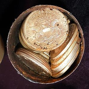 Credit: © Saddle Ridge Hoard discoverers via Kagin's, Inc./AP