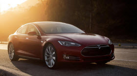 Tesla Model S. Photo by Tesla.