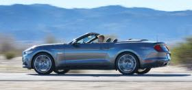 2015 Ford Mustang Convertible. Photo by Ford.