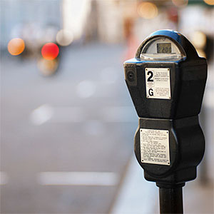 close-up of a parking meter © Ciaran Griffin, Stockbyte, Getty Images