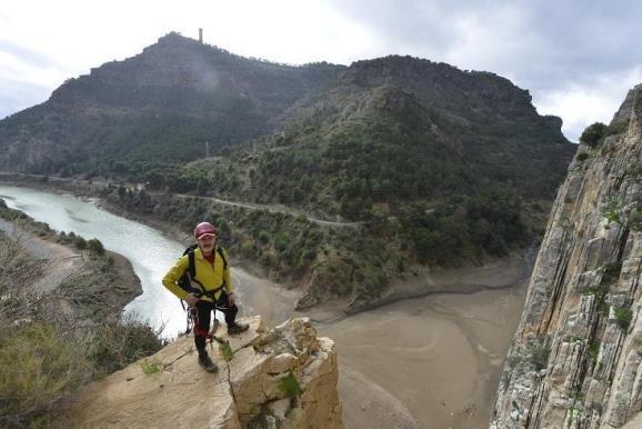 El Caminito del Rey, uno de los más bellos de España. Foto: Sebastián Álvaro