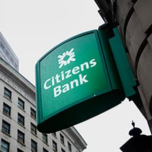 A Citizens Financial Group Inc. bank branch in Boston. © Kelvin Ma/Bloomberg via Getty Images