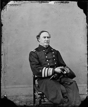David Glasgow Farragut (© AP Photo/Library of Congress)