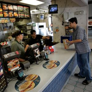 A Jack In The Box restaurant © Howard Lipin/SDU-T/ZUMA Press