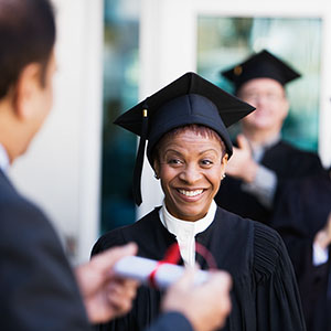 College graduate © Rob Melnychuk, Image100, Jupiterimages