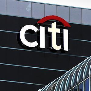 Credit: © Kiichiro Sato/APCaption: Citi Bank in Chicago