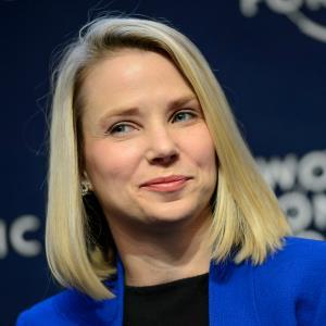 Yahoo CEO Marissa Mayer (c) LAURENT GILLIERON/epa/Corbis