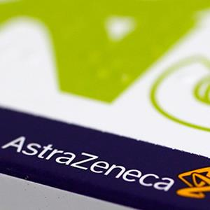 Credit: © Stefan Wermuth/ReutersCaption: The logo of AstraZeneca is seen on a medication package