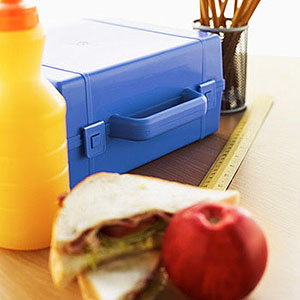 School lunch © Stockbyte/SuperStock