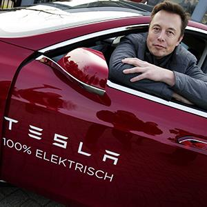 Elon Musk, co-founder and CEO of Tesla © Jerry Lampen/EPA/Corbis