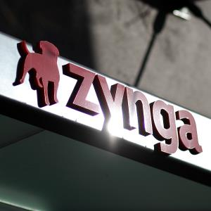 The Zynga logo is displayed on the front of the company's former headquarters in San Francisco © Photo by Justin Sullivan/Getty Images